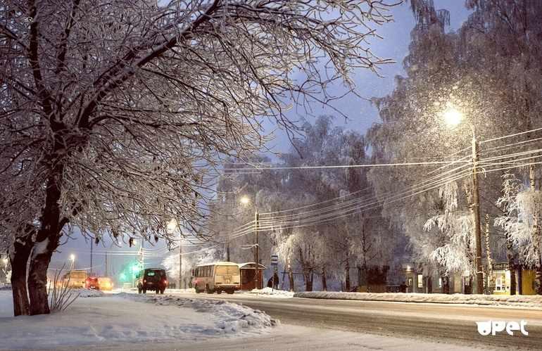 Сочинение на тему зима в моем городе