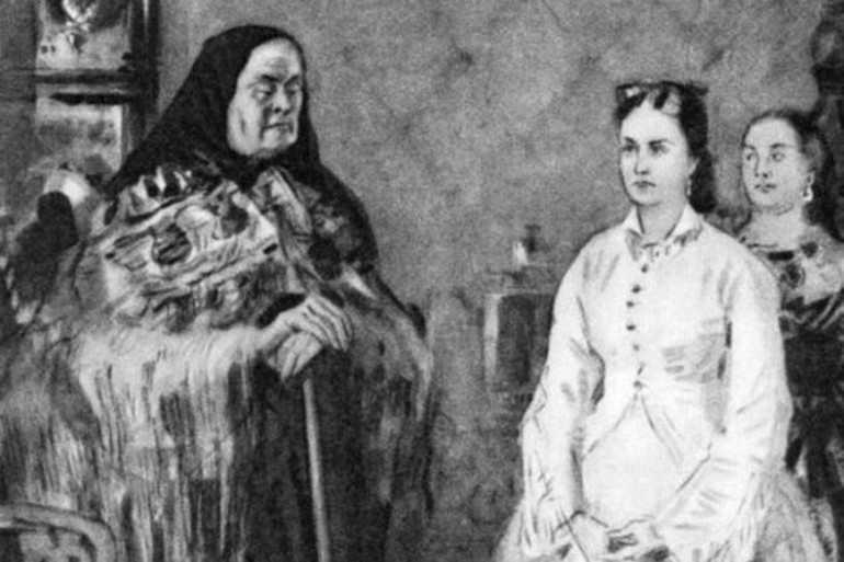 Кабаниха и Катерина
