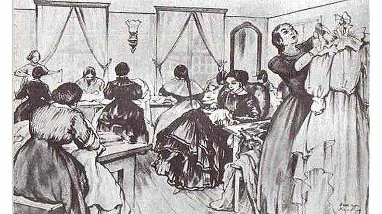 Розальская решается открыть швейную мастерскую