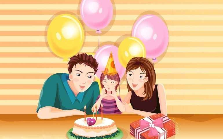 Родители стремятся устроить своему ребенку незабываемый праздник