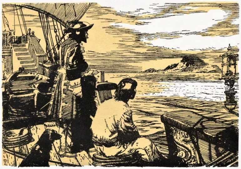 Робинзон плывет в Гвинею