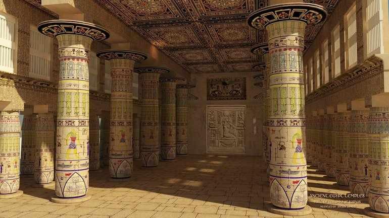 Египетский храм