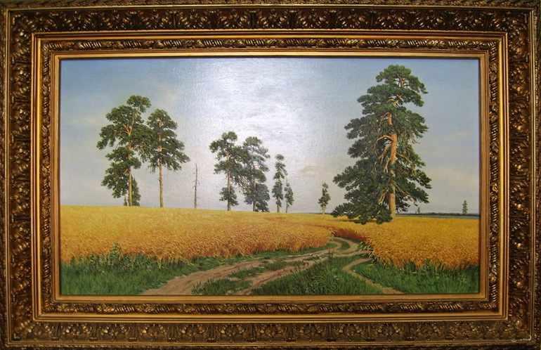 Картина Ивана Шишкина «Рожь»