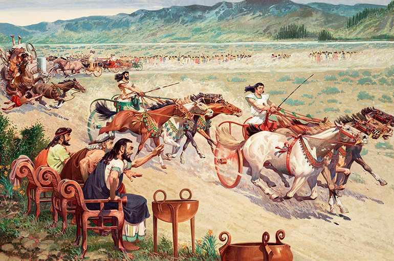 Олимпийские игры древности