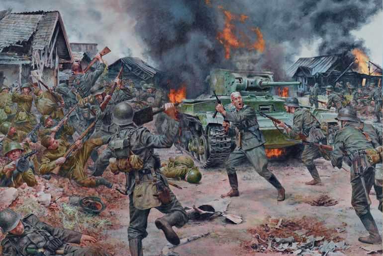 Сражения первой мировой войны