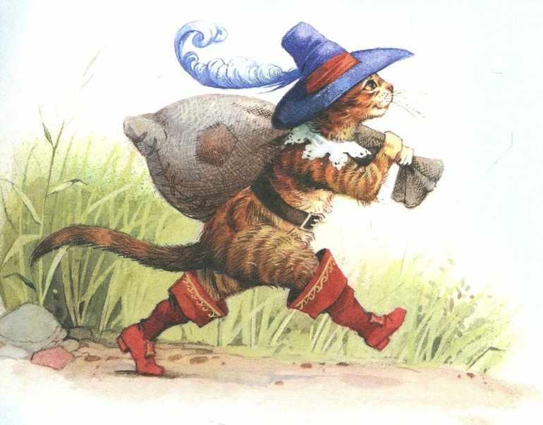 Сказка кот в сапогах краткое содержание