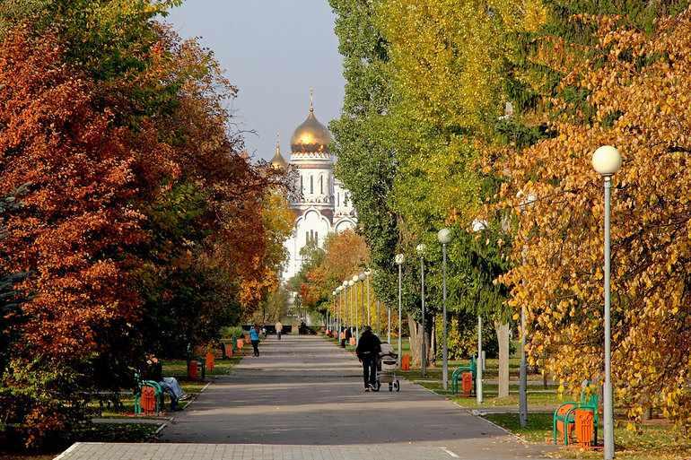 «Осень в моем родном городе Липецке»