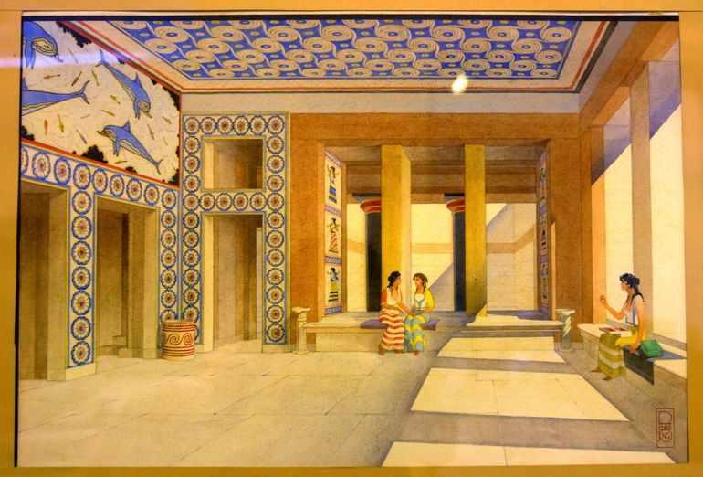 Крито микенская цивилизация