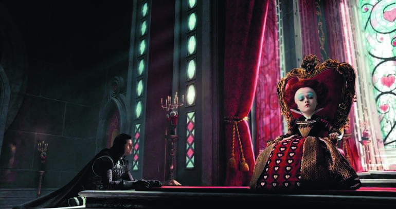 Червонная королева и король