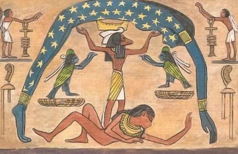 Верховное божество Нут