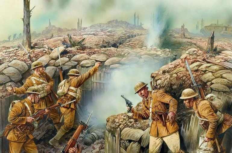 Основные сражения 1 мировой войны