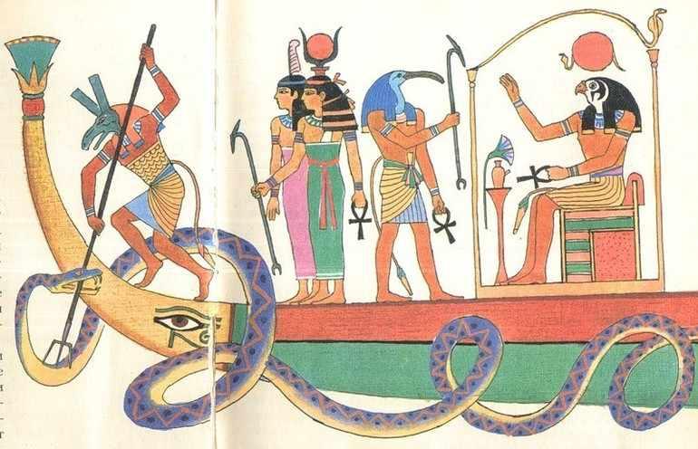 Герои легенд и мифы Древнего Египта