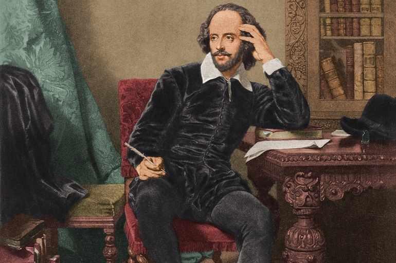 Английский писатель Шекспир
