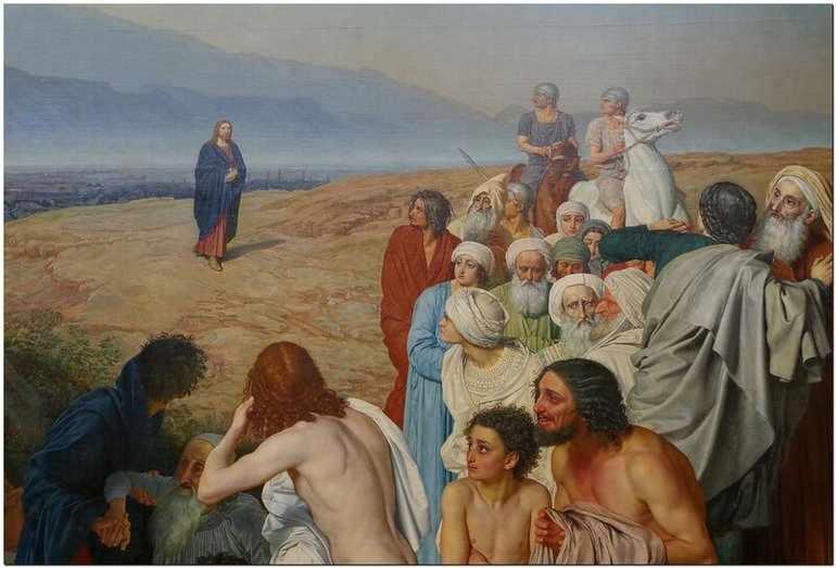 Краткое описание картины иванова явление христа народу