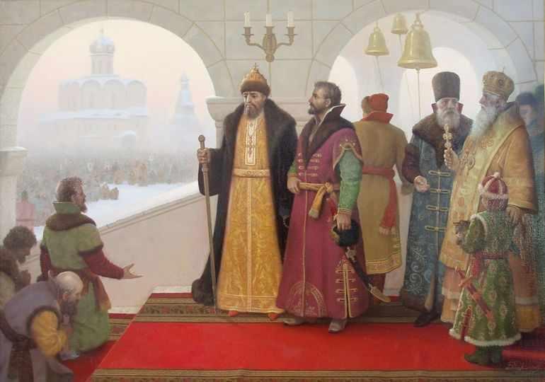 Избранная раза при Иване Грозном