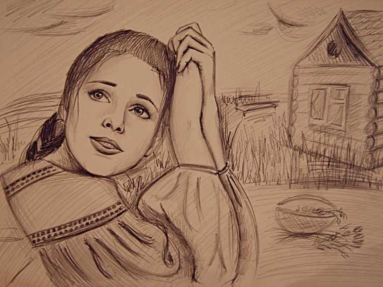 Бедная крестьянка Лиза