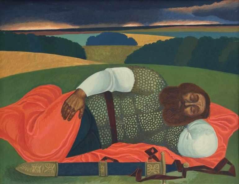Спит богатырь