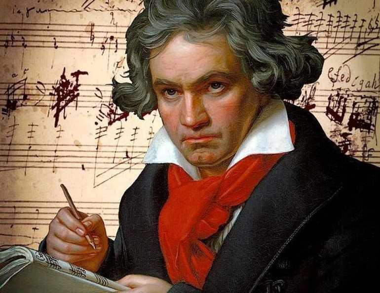 Бетховен в юности лишился слуха