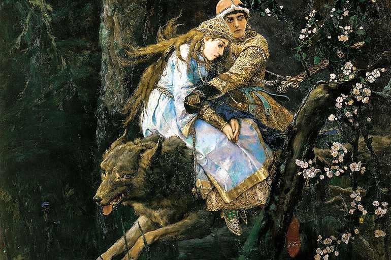 иван царевич на сером волке сочинение