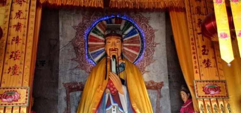 Всё в мире подчиняется Небу, которым управлял Шан-ди
