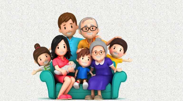 Моя семья мое богатство