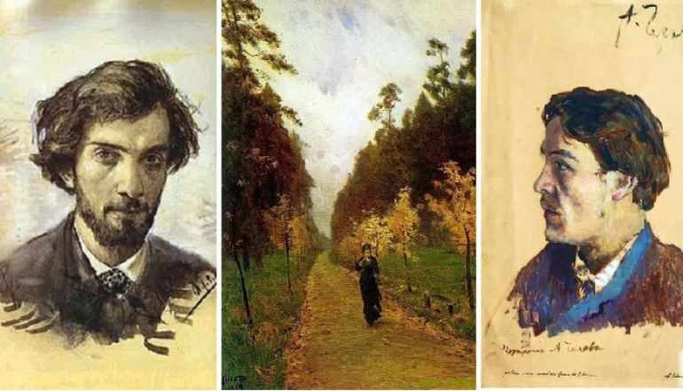Левитан и Чехов авторы картины «Осенний день. Сокольники»