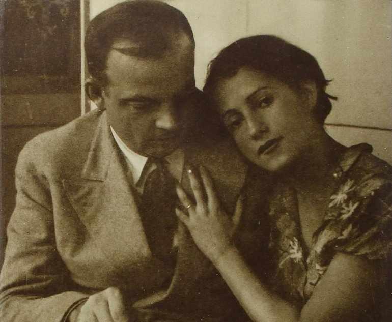 Антуан де Сент-Экзюпери с женой