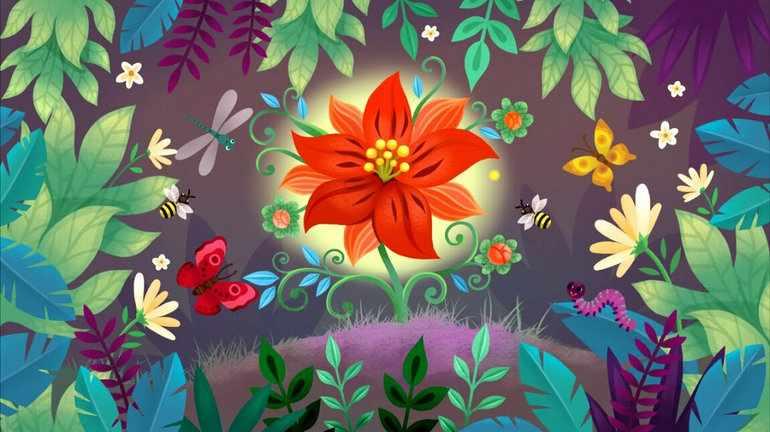 Описание аленького цветочка