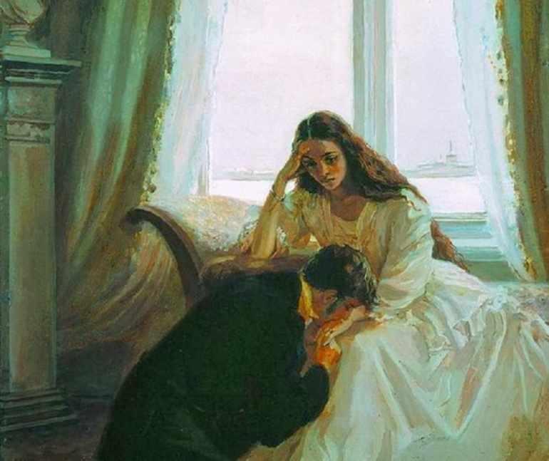 Встреча после замужества