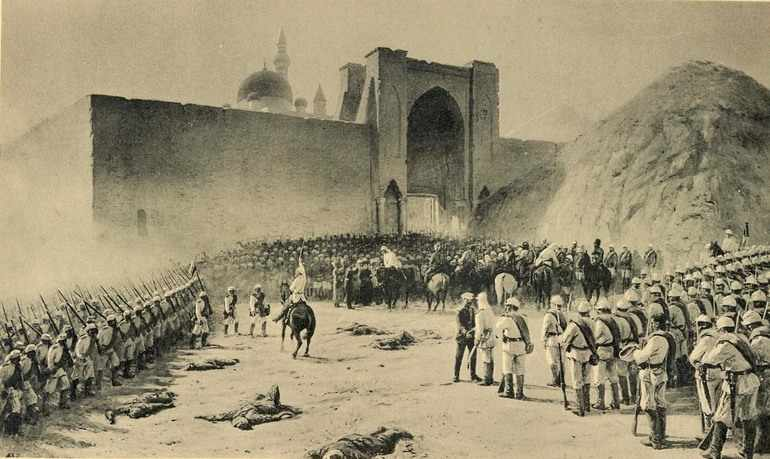 Осада крепости Баязит