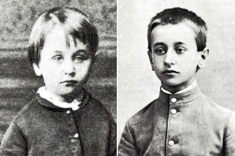 Борис Житков в детстве