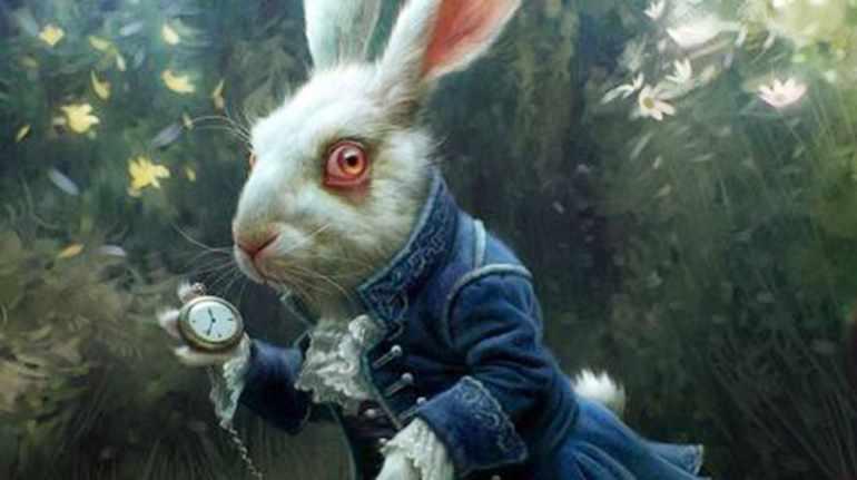 Персонаж Белый кролик