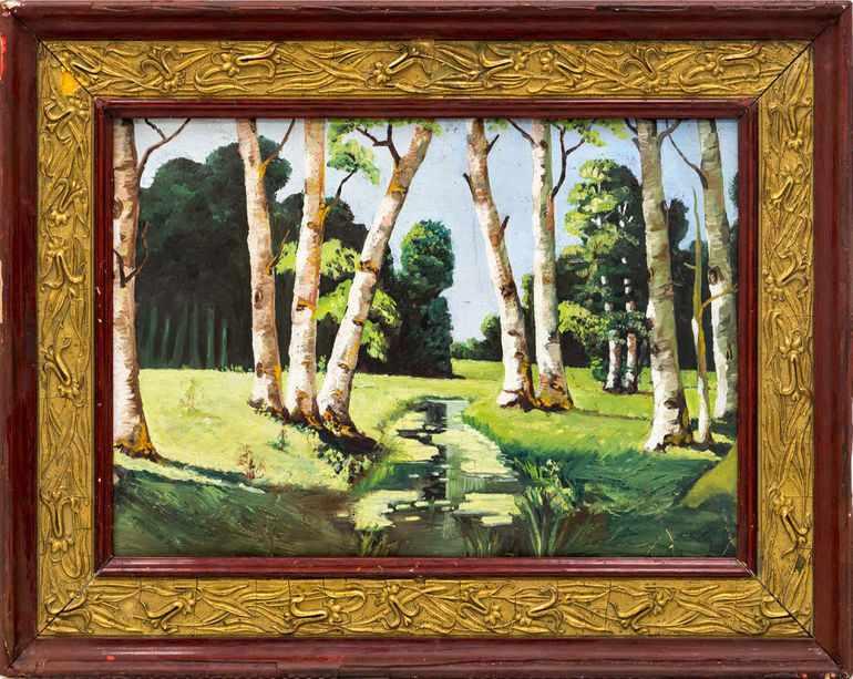 Картина Архипа Куинджи «Березовая роща»