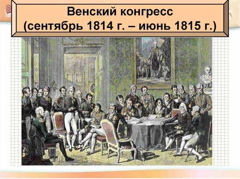 Венский конгресс 1814—1815 годов