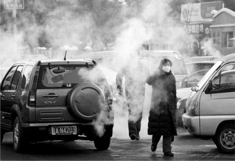 Выхлопные газы пагубно влияют на здоровье человека