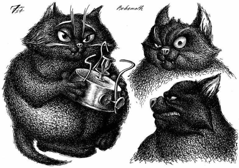 Кот бегемот мастер и маргарита