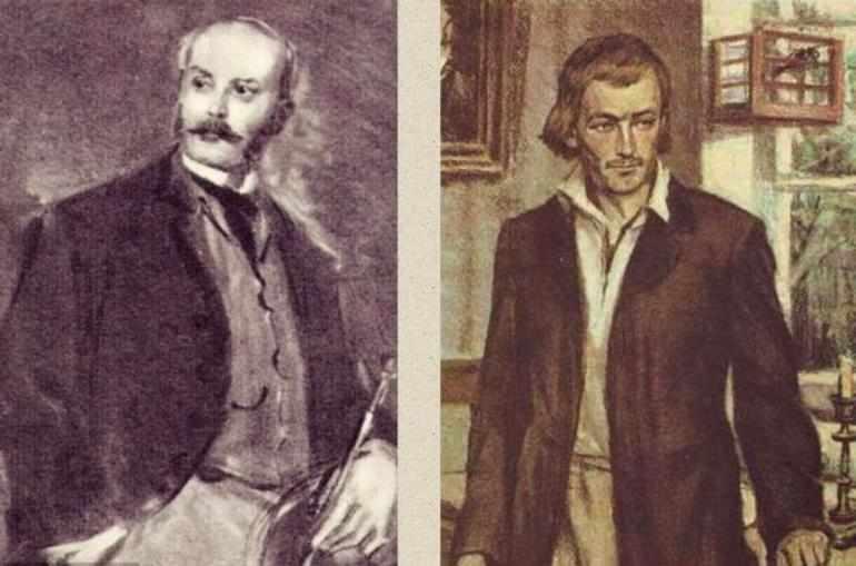 Николай Кирсанов и Базаров