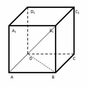 Сколько вершин у куба