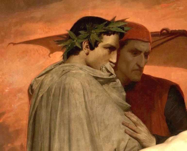 Вергилий в «Божественной комедии»
