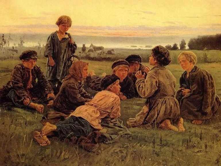 Дети рассказывают истории
