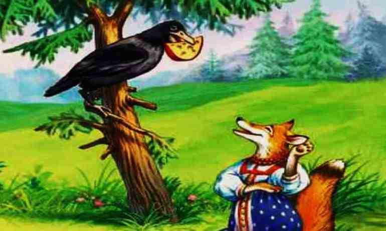 Анализ и мораль басни ворона и лисица