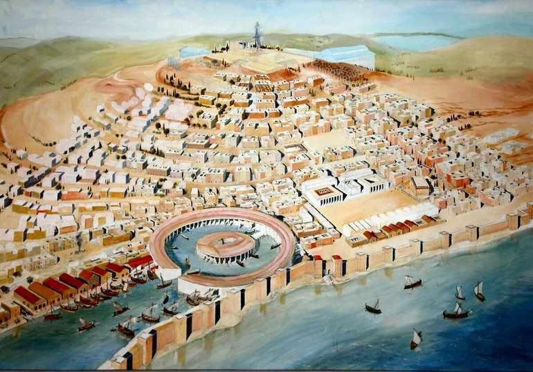 Финикийский город