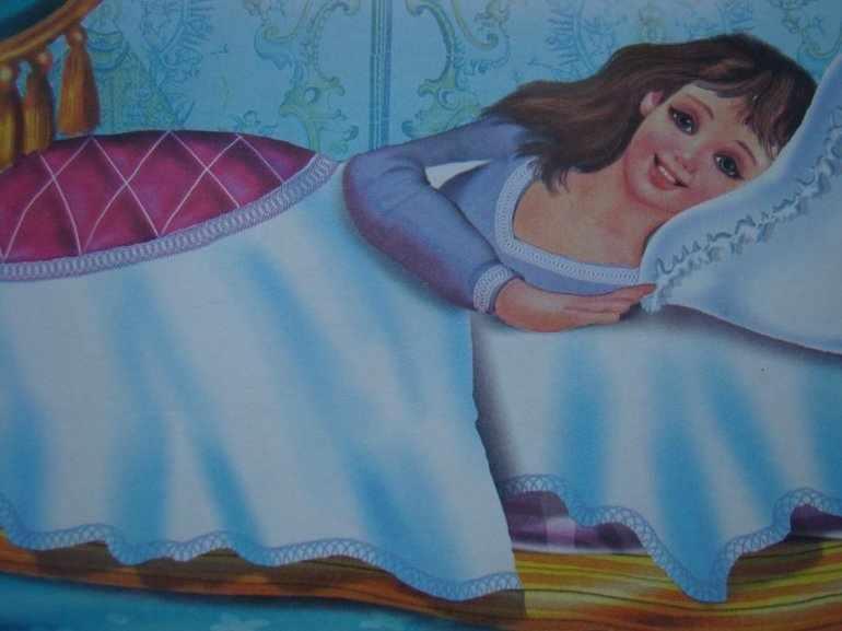 Принцесса на горошине читательский дневник