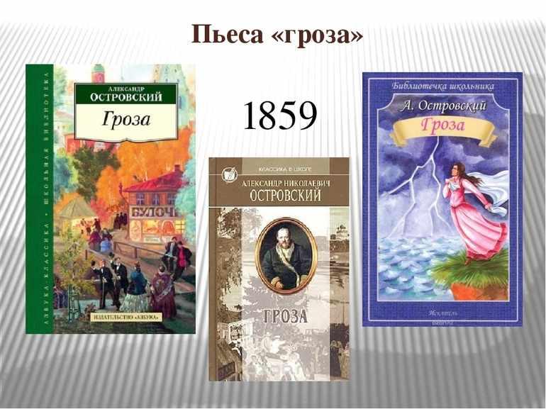 «Проблематика пьесы Островского «Гроза»»