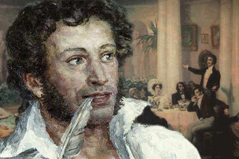 Пушкин пишет оду «Вольность»