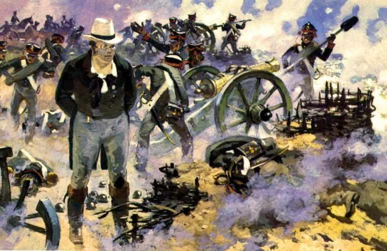Пьер Безухов жертвует огромные деньги на формирование полка