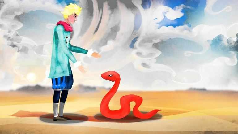 К маленькому принцу приползла змея