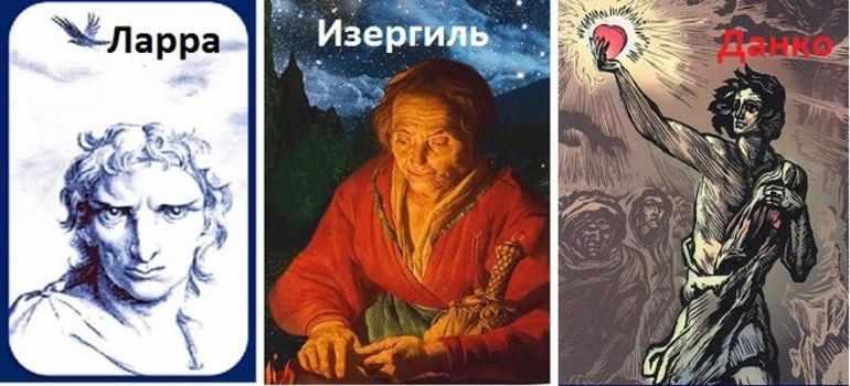 Каково назначение трехчастной композиции рассказа старуха изергиль