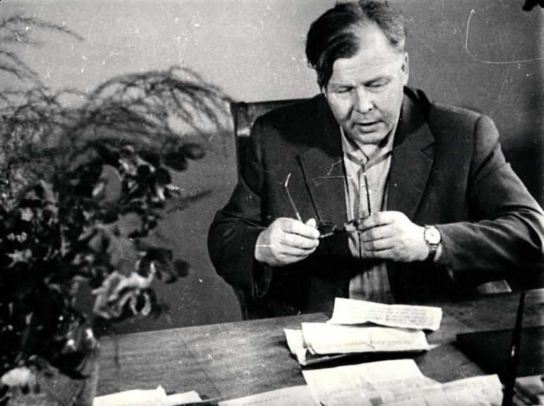 Писатель Твардовский