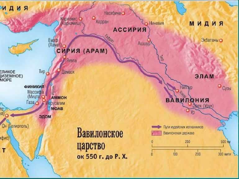 Географическое положение Древнего Вавилона
